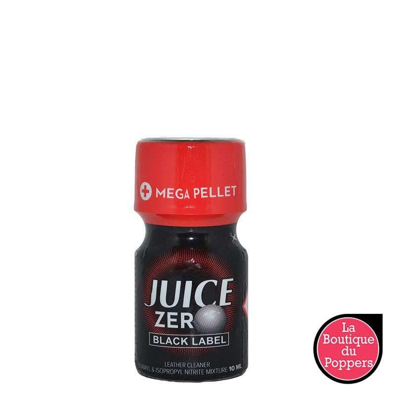 Poppers Juice Zero Black label 10ML pas cher