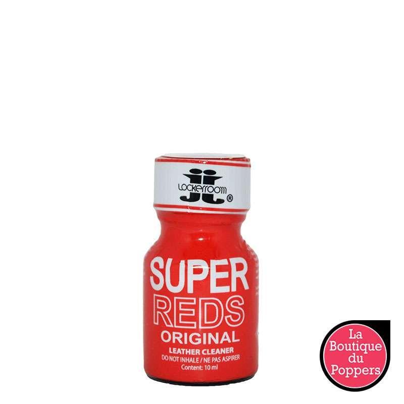 Poppers Super Reds Original pas cher