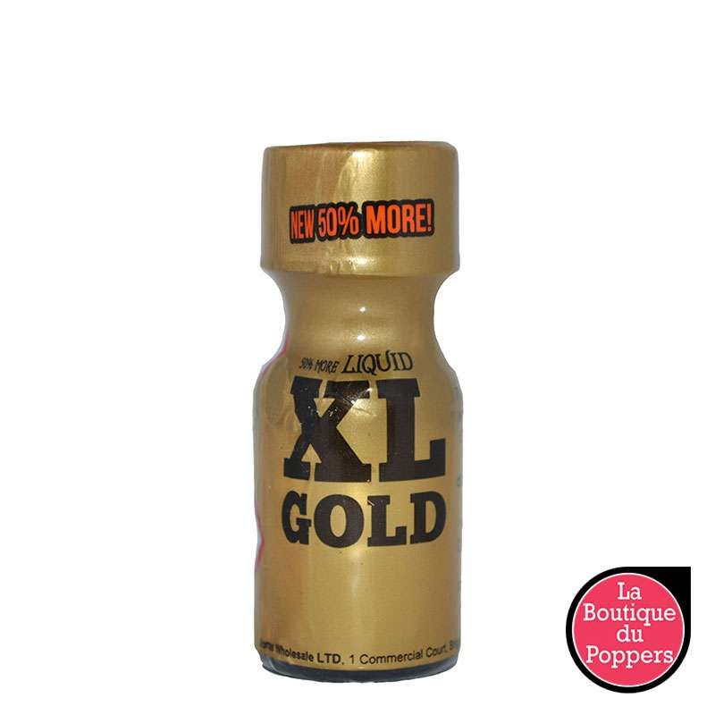 Poppers XL Gold 15ml pas cher