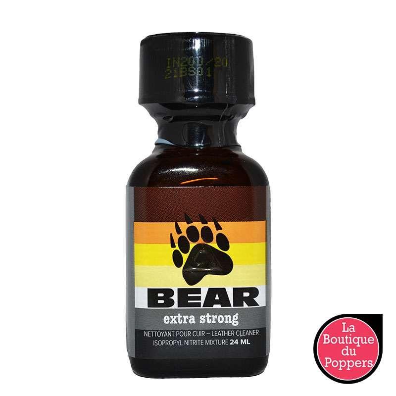 Poppers Bear 24mL pas cher